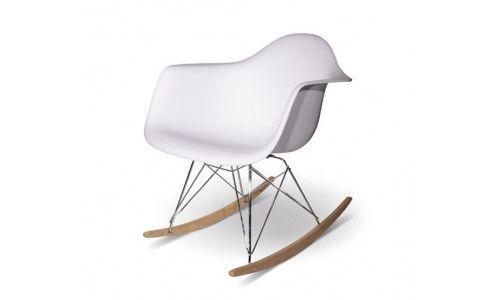 Eames Rar Stoel : Woonloods1 eames rar schommel stoel wit woonkamer pinterest