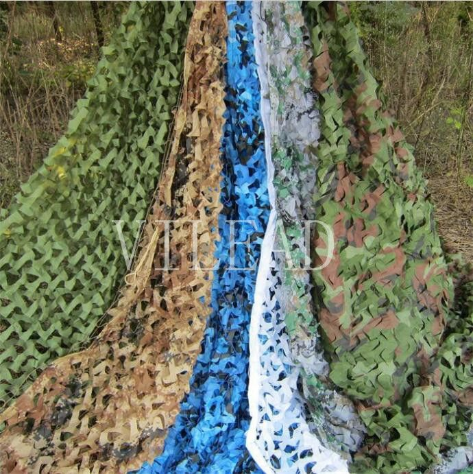 Vilead 9 Colors 1 5m 10m Protective Camouflage Netting Camo Net For Military Shelter Beach Tent Garden Tent Camping Shel Beach Tent Camping Shelters Car Canopy