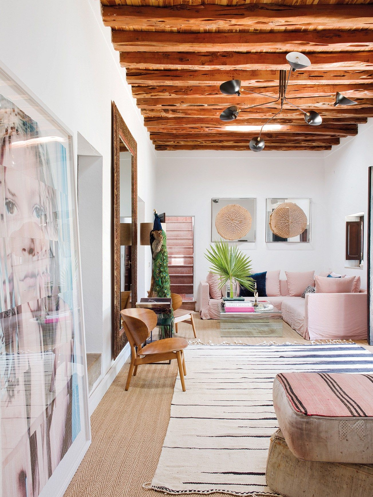 A Touch Of Glamour In A Traditional Finca On Ibiza The