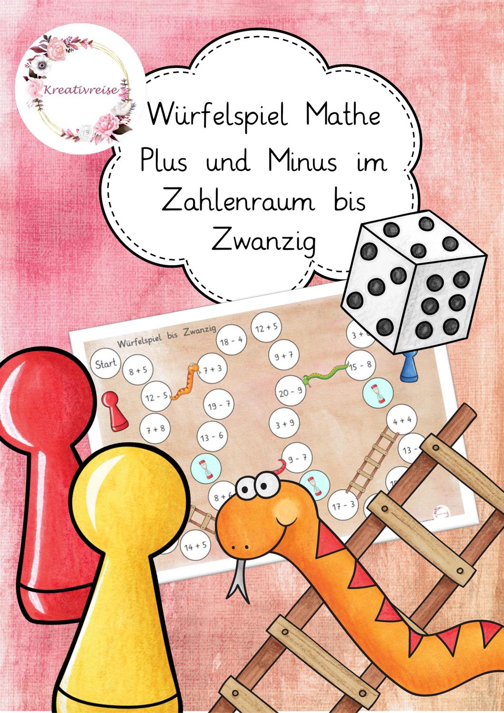 Würfelspiel Rechnen im Zahlenraum Zwanzig ZR 20 ...