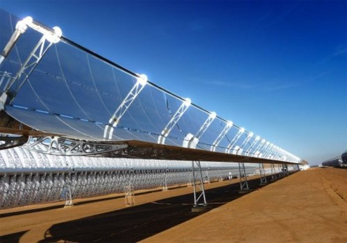 Bokpoort Concentrated Solar Power (CSP) plant in South