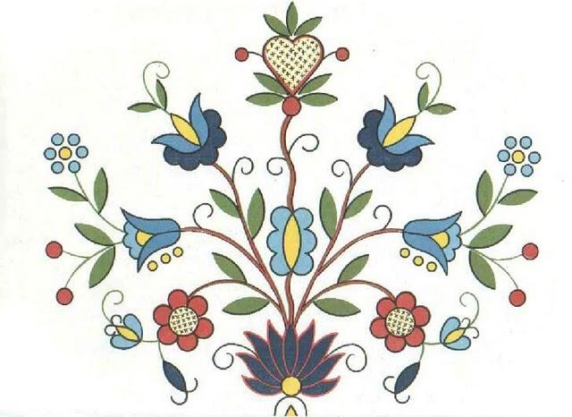Haft Kaszubski Szkola Wejherowska Folk Embroidery Polish Folk Art Redwork Embroidery