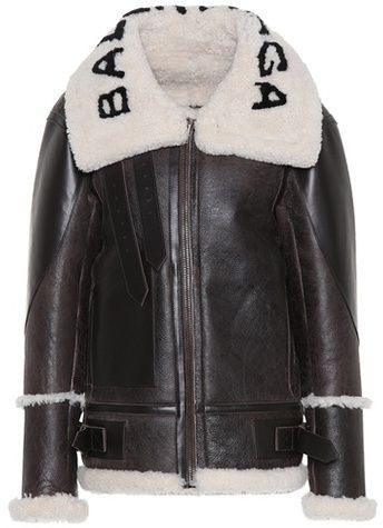 bfbd9d24d1b The Bombardier shearling jacket