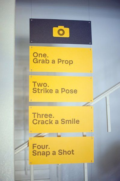 #Photobooth instructions - love this! {Mike Arick Photography}