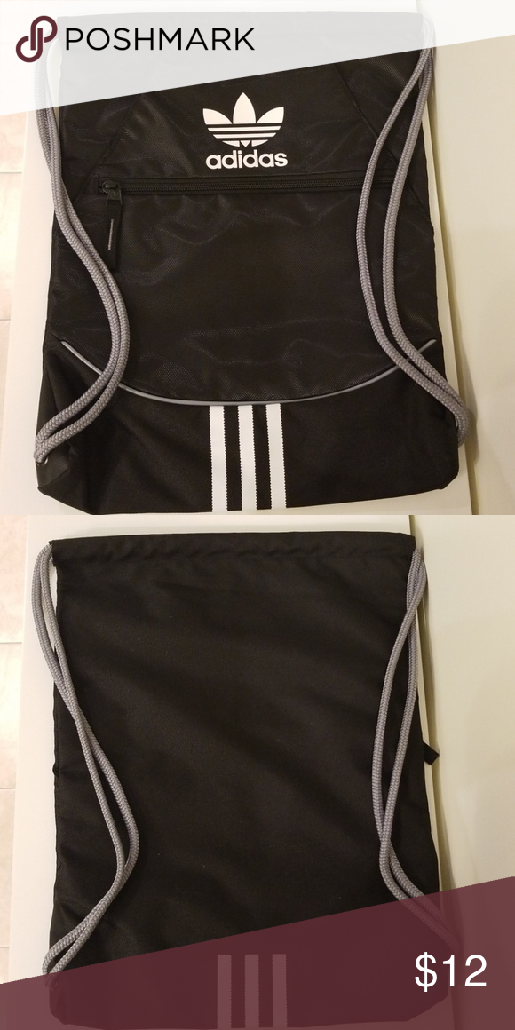 9ae17cb9915 adidas Originals Sackpack Sack pack Top load design allows for superior  packing Drawcord closure system doubles
