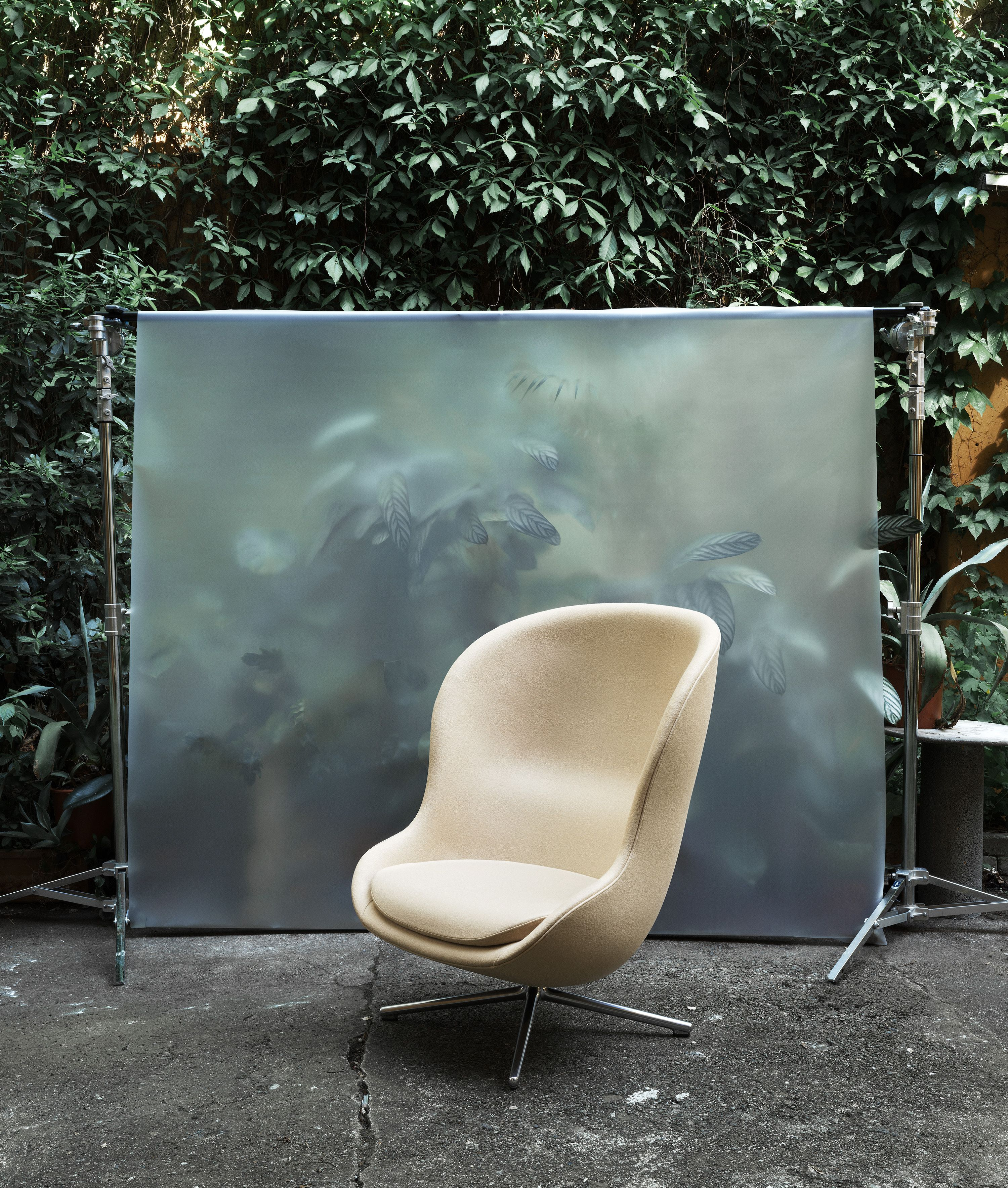 Hyg lounge chair, behind the scene | Normann Copenhagen | Hyg Lounge ...