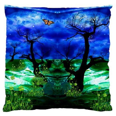 element song 2:9 by saprillika Large Flano Cushion Case (Two Sides) front