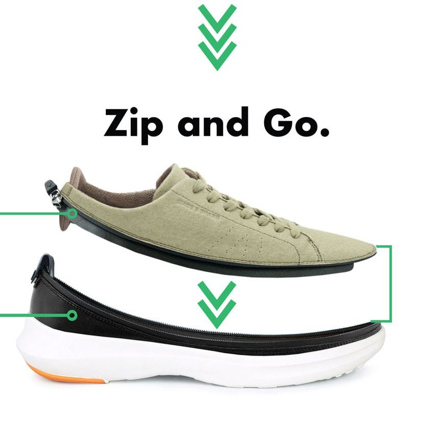 Zip and Go | ACBC Modulare Reiseschuhe in 2020 | Modetrends