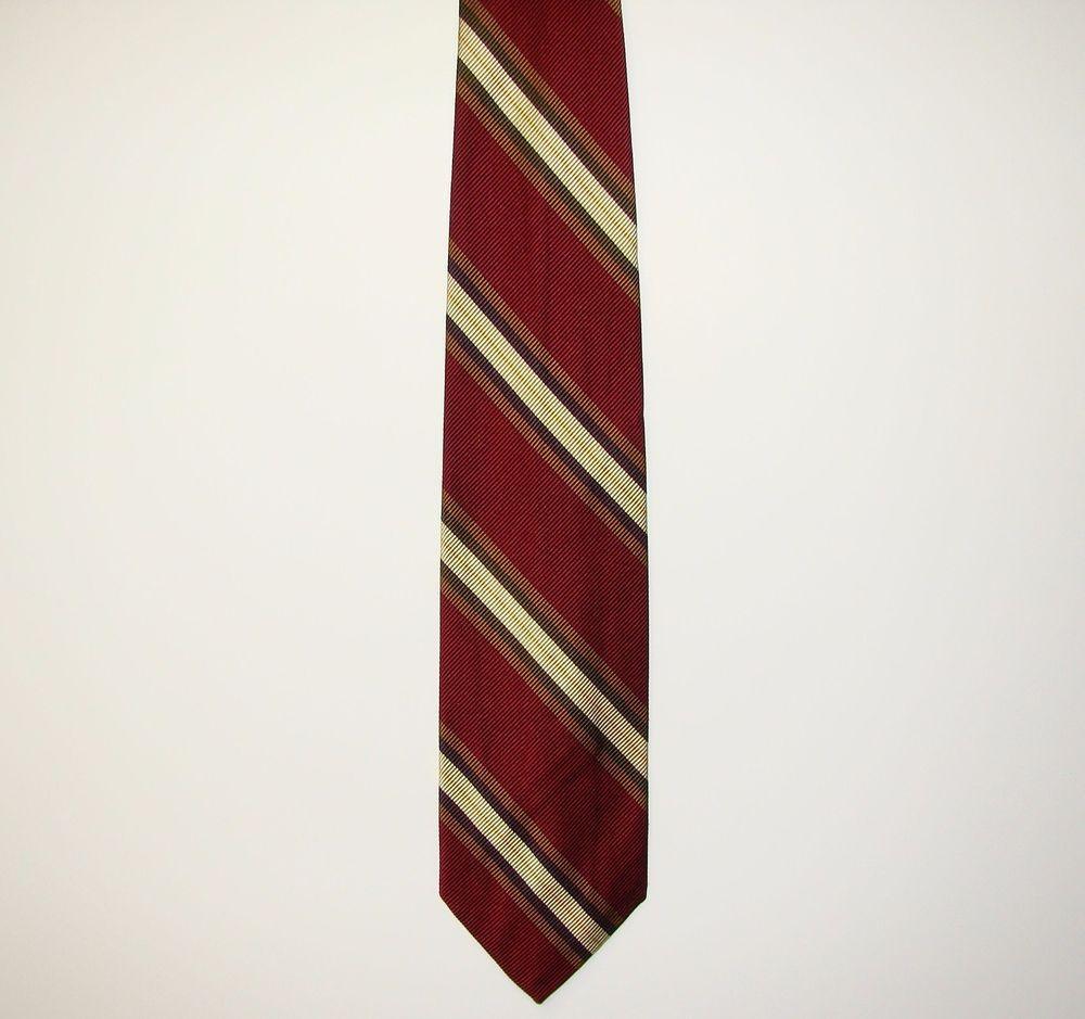 Robert Talbott Best of Class 50% Silk 50% Cotton Men Dress Neck Necktie Tie 58in #RobertTalbott #Tie