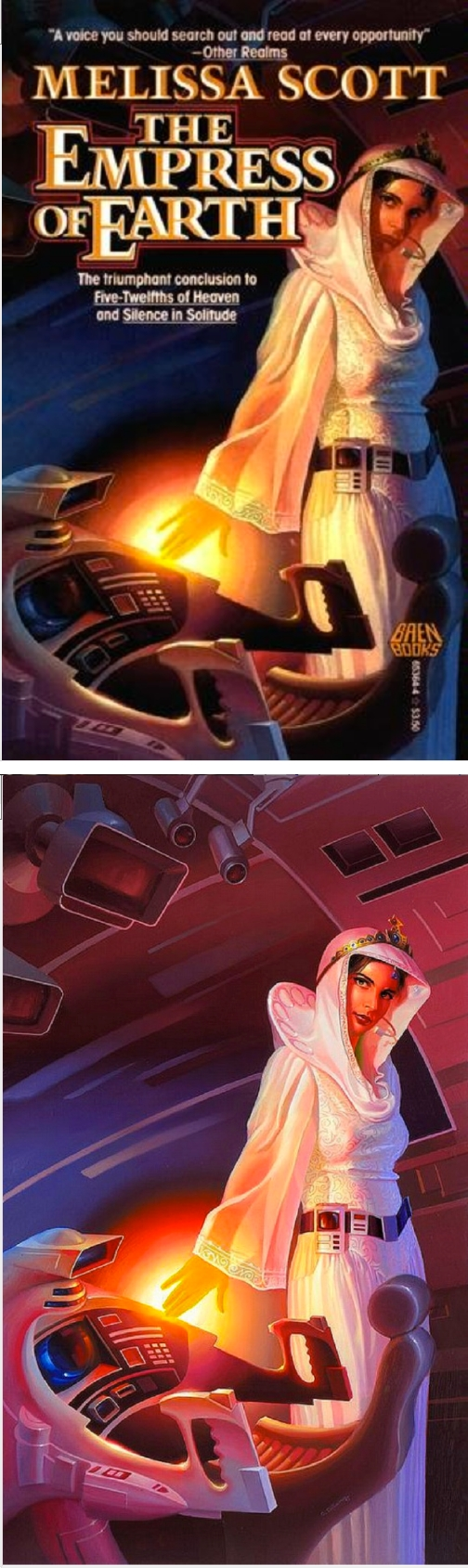 ALAN GUTIERREZ The Empress of Earth by Melissa Scott