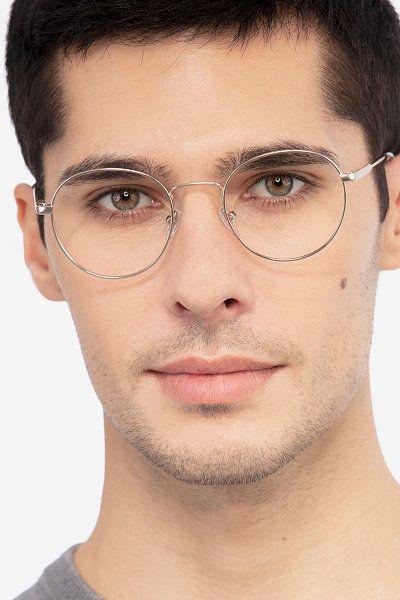 Golden Round Prescription Eyeglasses Large Full Rim Metal Eyewear Memento Eyeglass Frames For