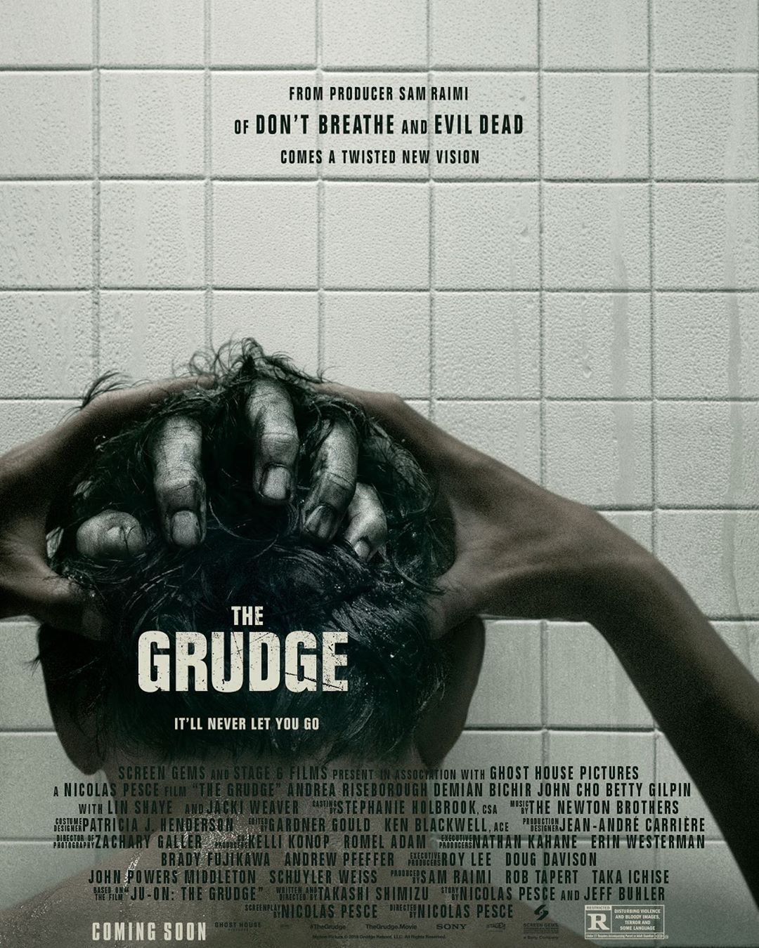 Nightmarish Conjurings On Instagram On The 15th Anniversary Of The Grudge Staring Sarah Michelle Gellar We Now Have Th In 2020 The Grudge Movie The Grudge John Cho