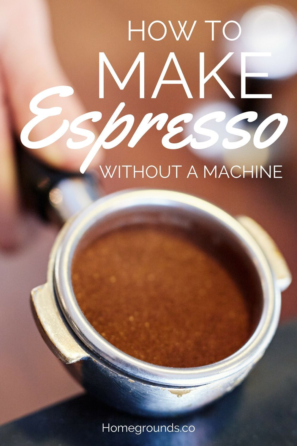 How to make espresso without a machine not what you think
