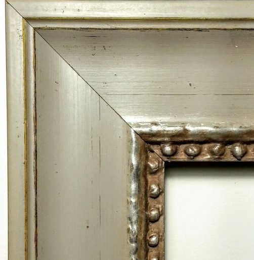 MADE IN ITALY - French Country Picture Frame Moulding, Rusty Beaded ...