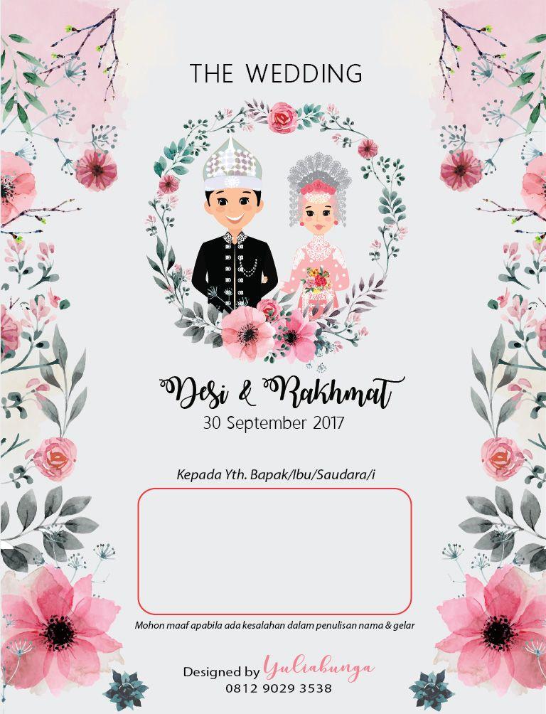 Adat Makassar Undangan Pernikahan Kartu Undangan Pernikahan Kartu Pernikahan