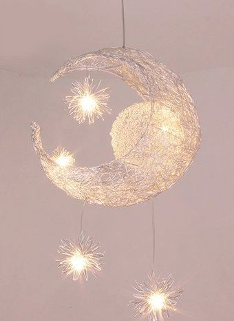 Chandelier Creative Personalized Childrens Bedroom Lamp Modern Minimalist Dining Room Light Fixture Hanging Bar Terrace Lighting You Can Get