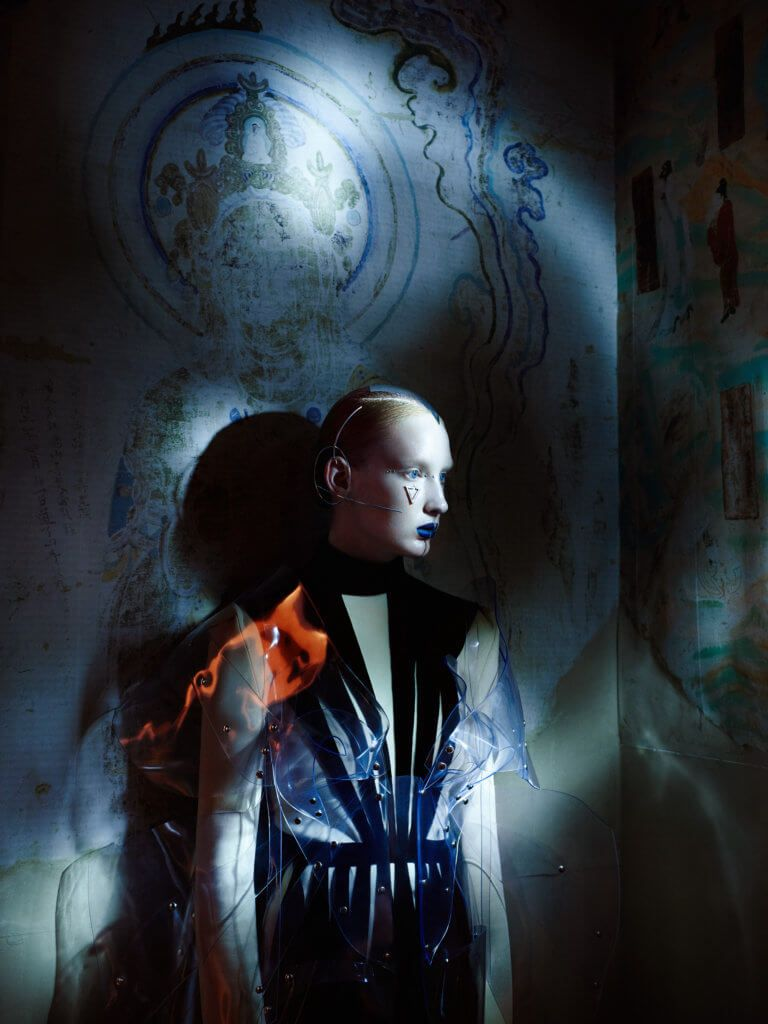 Harper´s Bazaar China // Valentino, Jivomir Domoustchiev, Katerina Reich // Flying in space