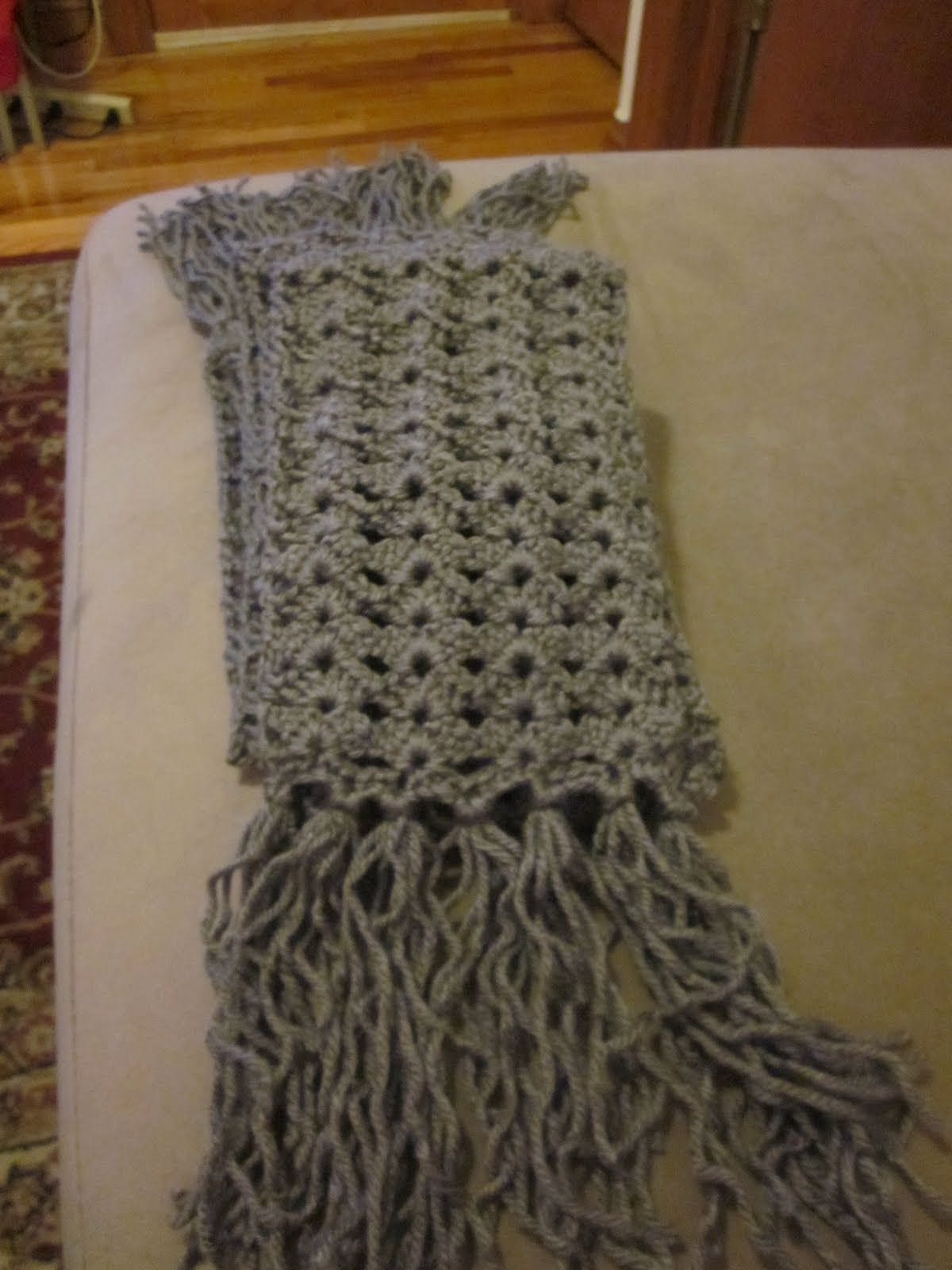Crochet Scarves Patterns | ... week i decided to attempt a new ...