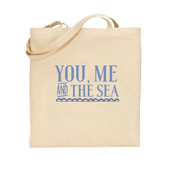 Personalised beach themed tote bag, holiday Tote Bag, available in ...