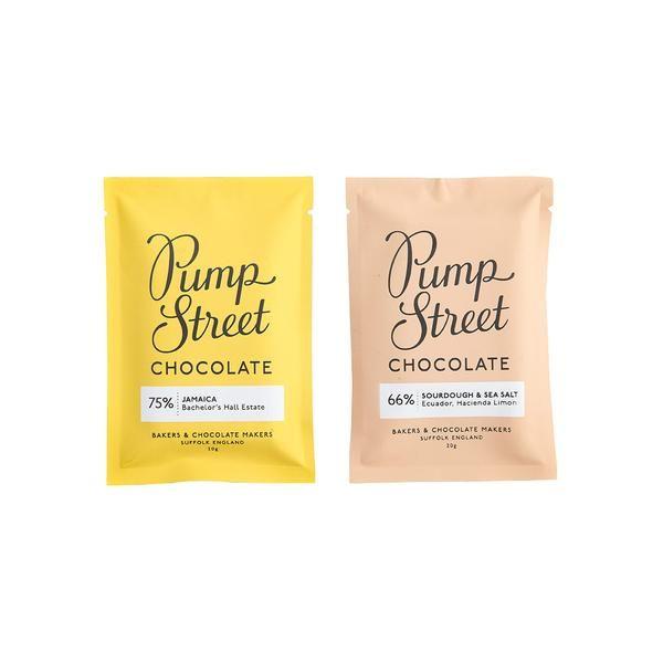 Pump Street Chocolate Tasting Bars Gifts Chocolate