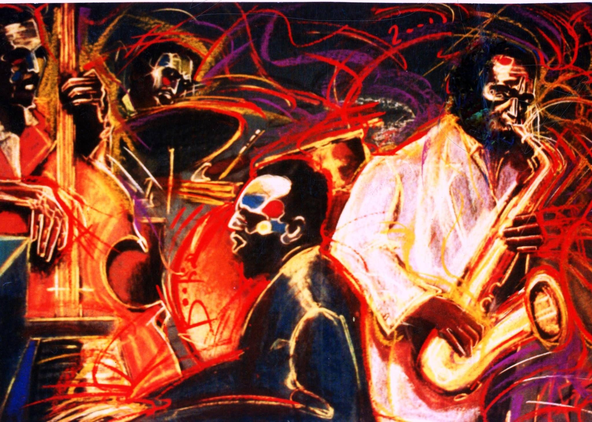 Barry boobis new orleans quartet artwork painting