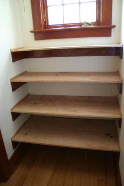17 Best images about shelves on Pinterest   Shelves, Wooden closet and Wooden  shelves