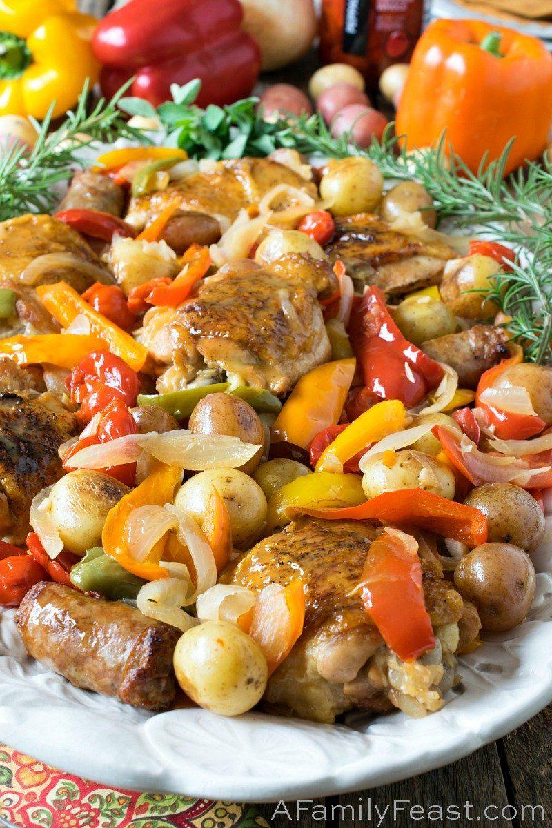 Chicken Scarpariello - A Family Feast
