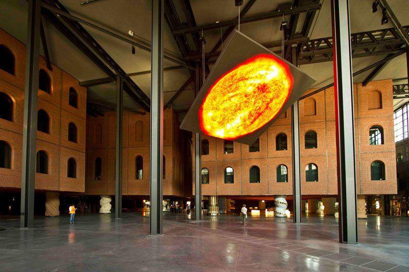 Internal Cubes Alhondiga Bilbao Architecture Philippe Starck