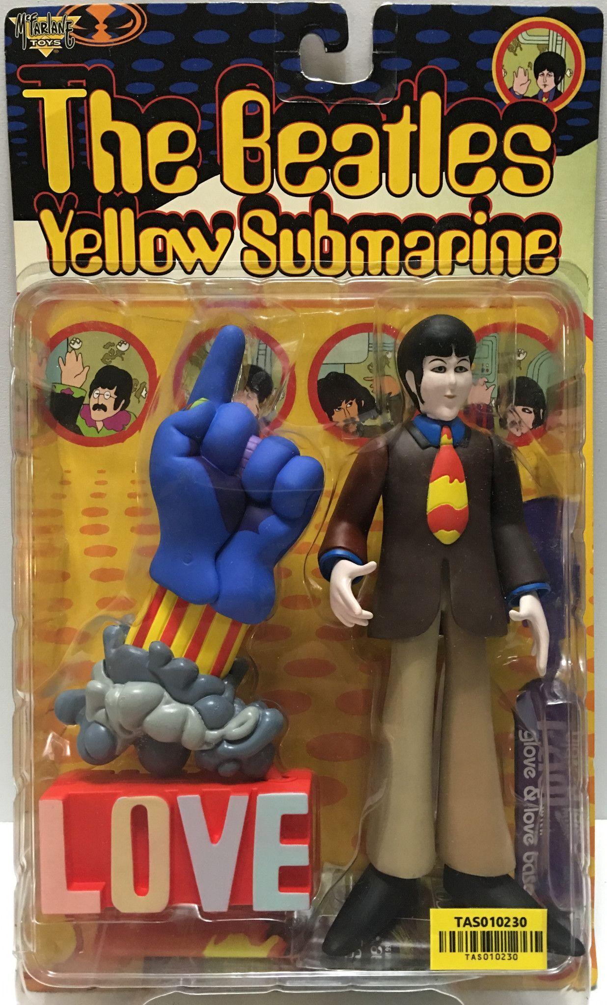 1999 McFarlane Toys The Beatles Yellow Submarine - Paul w/ Glove ...