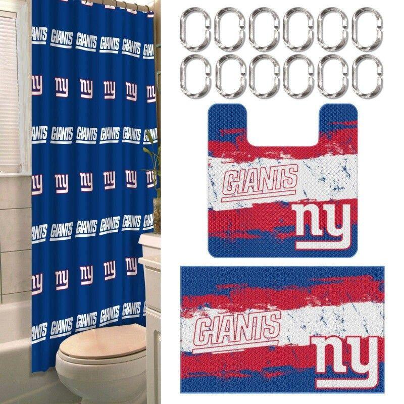 Ny Giants Bathroom Bath Sets New York Giants Contour Rug