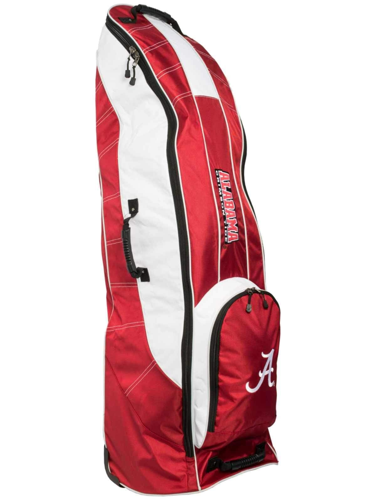 Alabama Crimson Tide Team Golf Red Golf Clubs Wheeled