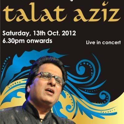 "Talat Aziz presents Presenting Classical Ghazals like ""Zindagi Jab Bhi Tere Bazm Mein, Aiana Mujhse Mere Pehlee Se, Phir Chidi Raat, Khhuda kare ke mohabat mein woh mukaam aye"" from Classic Films like Umrao Jaan, Bazaar, Daddy etc."