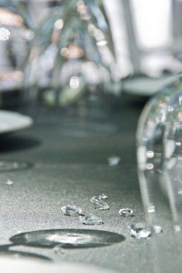 Perlas de cristal para mesas de banquete