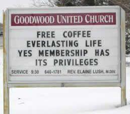 Church Sign Quotes Mesmerizing 15 Hilarious Church Signs  Church Signs Funny Church Signs And