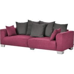 Photo of smart Big Sofa – rot – 244 cm – 68 cm – 107 cm – Polstermöbel > Sofas > Big-Sofas