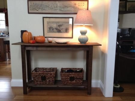Entry Table | Do It Yourself Home Projects from Ana White