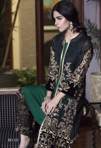 Details about  /Pakistani Indian Maria B Designer Party Wear Anarkali Gown Salwar Kameez Suits