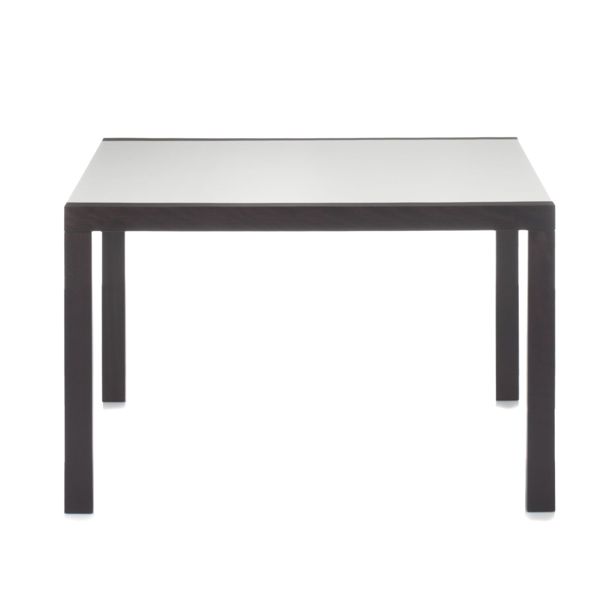 Table rectangulaire extensible de 4 8 couverts bicolore for Table de salle a manger 15 couverts