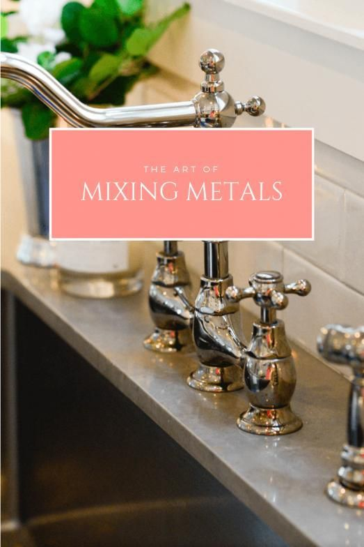 Photo of The Art of Mixing Metals Studio L Interior Design #bathroomfixtures #bathroom # …