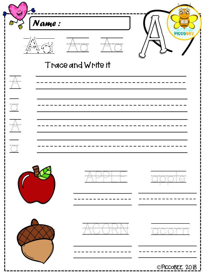 Alphabet Handwriting {Valentine\'s Day} | Pre-school, Maths and ...