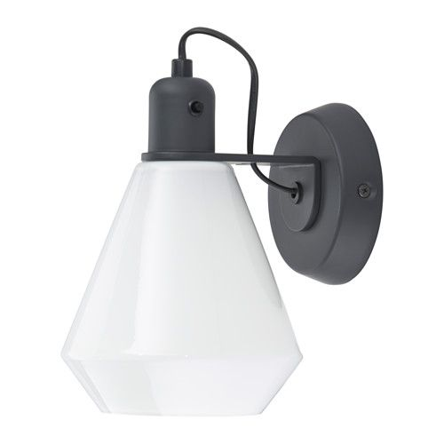 älvängen wall lamp wired in installation ikea flexible can be mounted with the light turned downwards or upwards