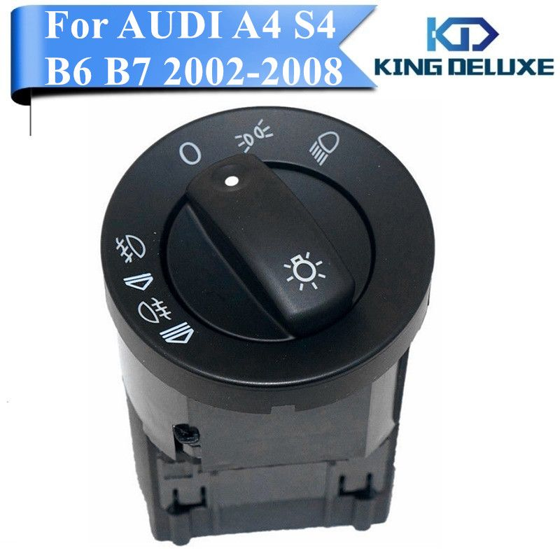 Car Fog Light Headlight Front Switch Control For Audi A4 S4 B6 B7 Quattro 8e0941531a Replacement Parts King Deluxe P128 Audi A4 Audi Replacement Parts