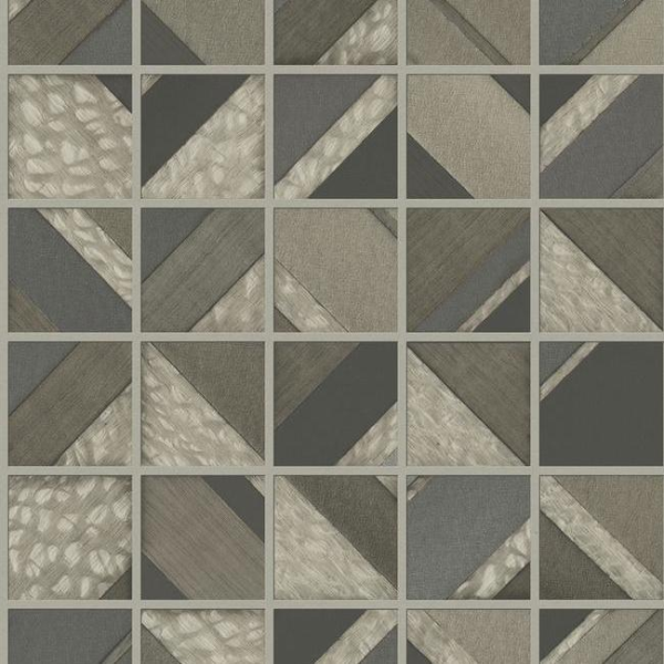 Mm1749 Patchwork Tile With Images Patchwork Tiles Wall Coverings Embossed Wallpaper