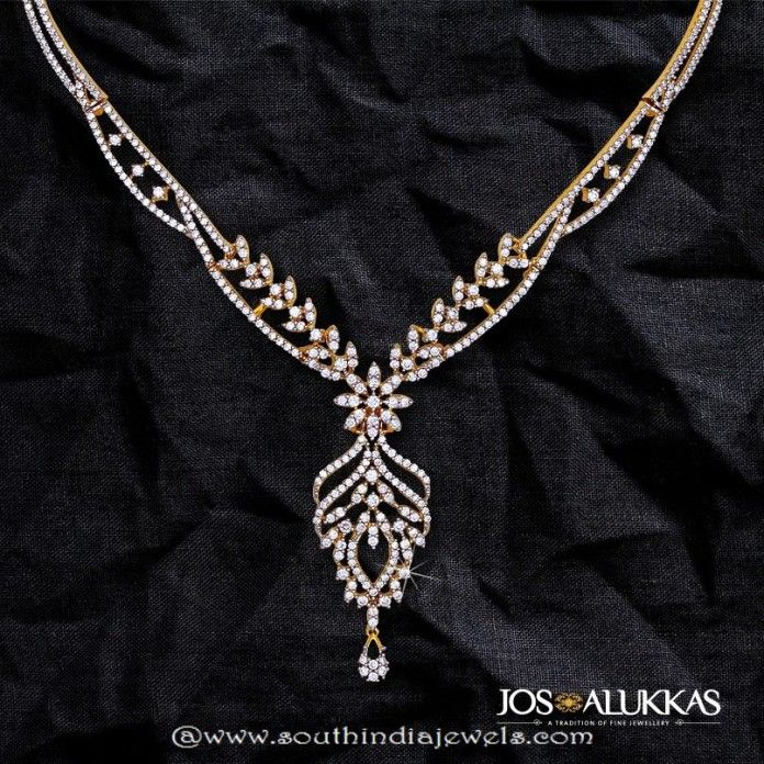 Beautiful Diamond Necklace from Josalukkas | diamond jewels ...