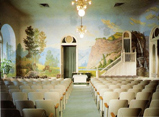 A Salt Lake Temple Telestial Room | Weirdly Fascinating, Definitely