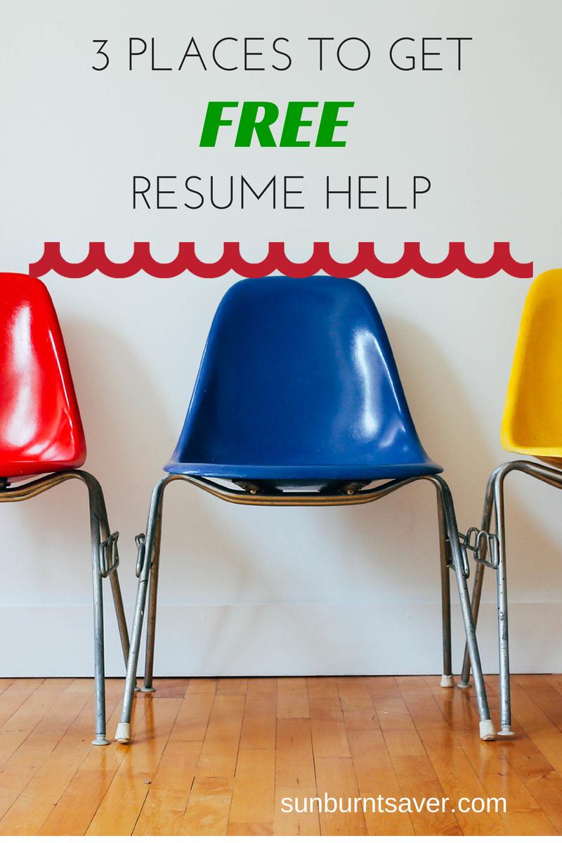 Resume Com Review 3 Places To Get Free Resume Help  Resume Help Resume Review And .