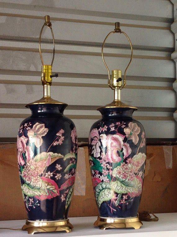 Swanson Lane Home, Simple Dwellings blog, etsy, pair of vintage asian lamps, vintage lamps, accessories