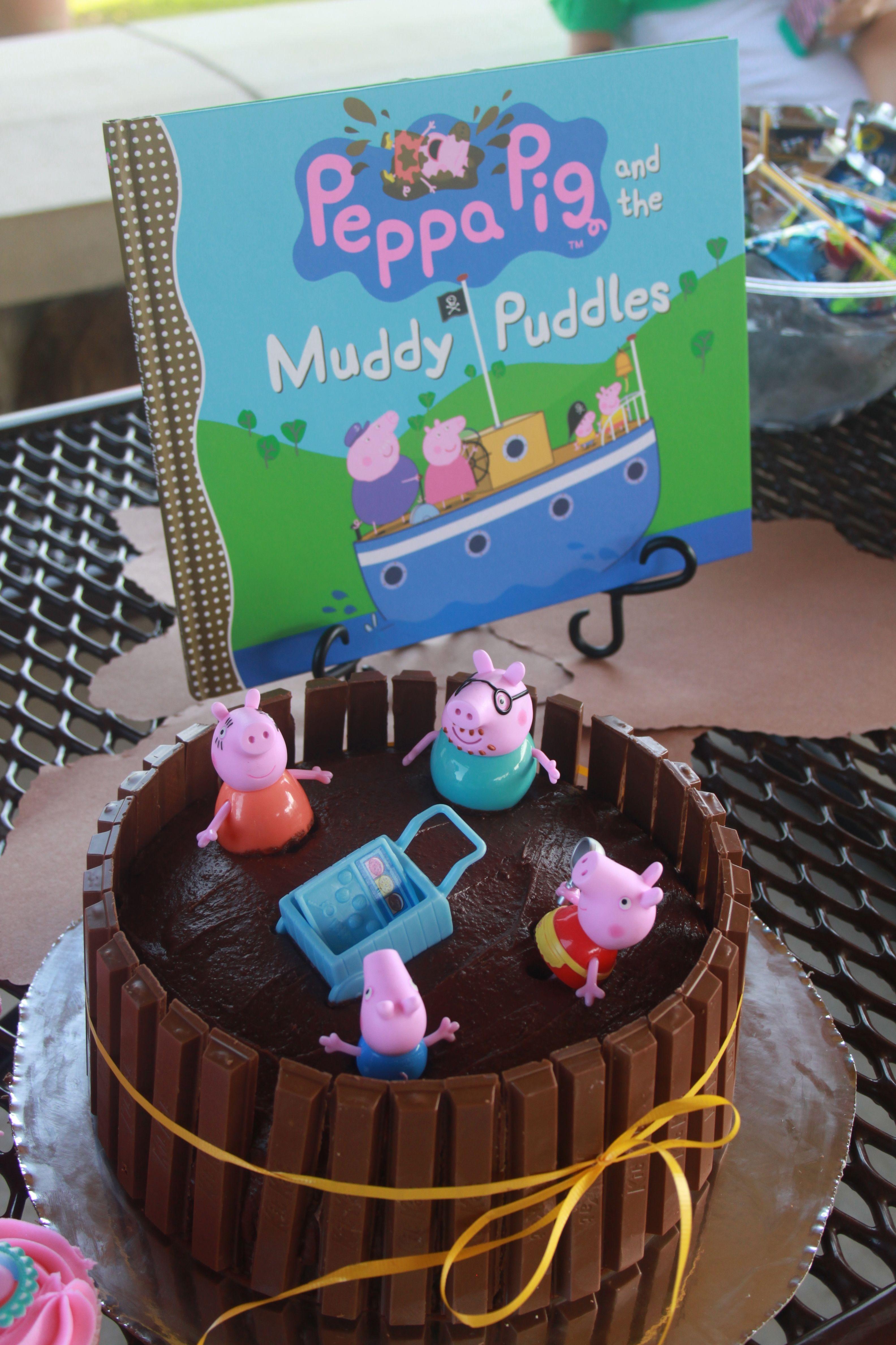 Peppa Pig Birthday Cake Demi's 3rd Bday Party Ideas Pinterest Peppa pig birthday cake, Pig