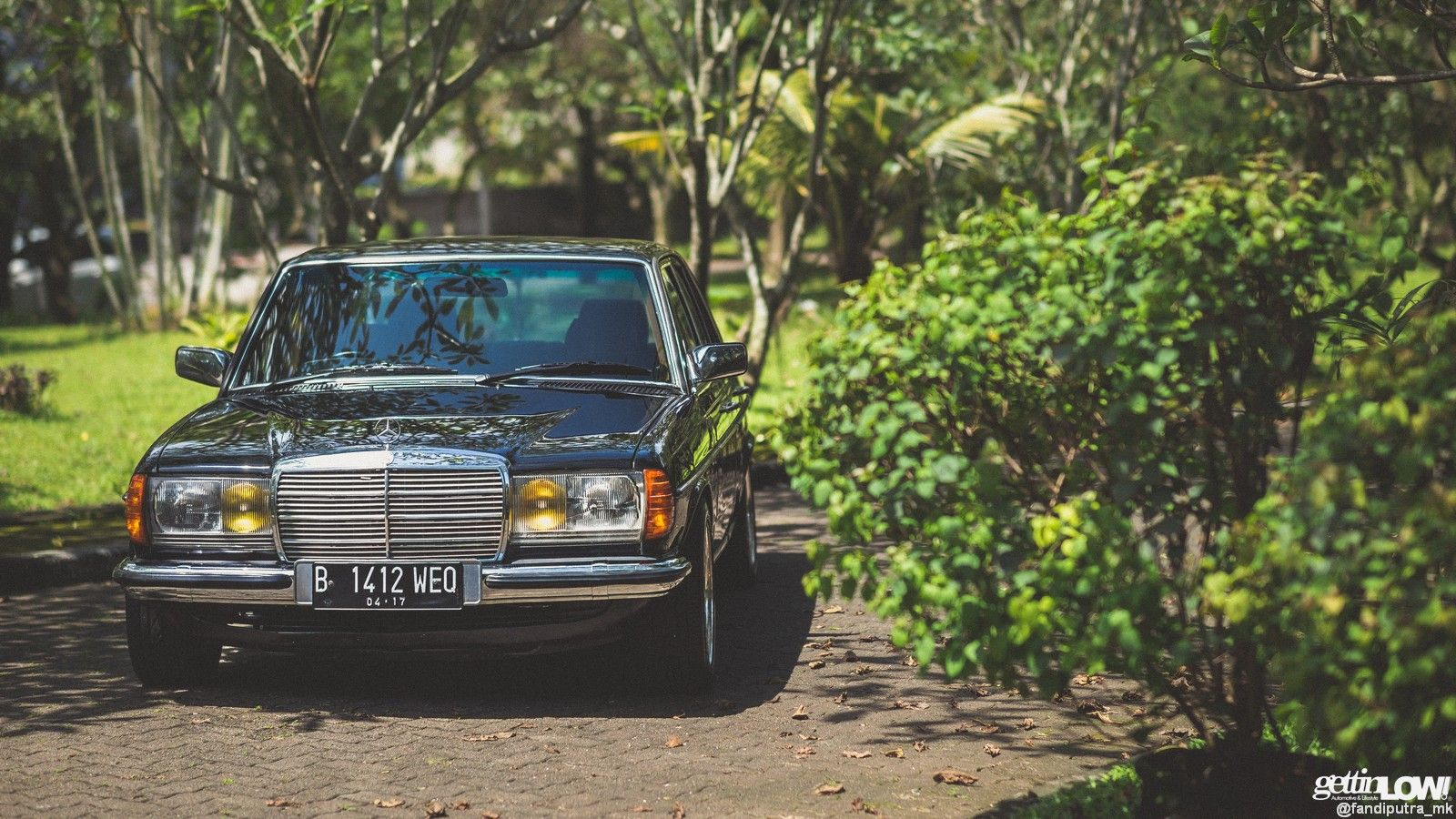 Daned Soedjito 1986 Mercedes Benz W123 280e On Amg Penta