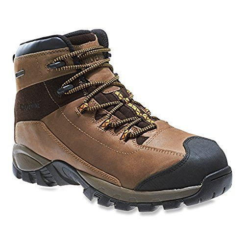 Wolverine Mens Black Ledge LX Waterproof Lth SteelToe MidCut Hiking Boot Cigar  Gold 140  M  HDO Cap Bundle >>> Check this awesome product by going to the link at the image.